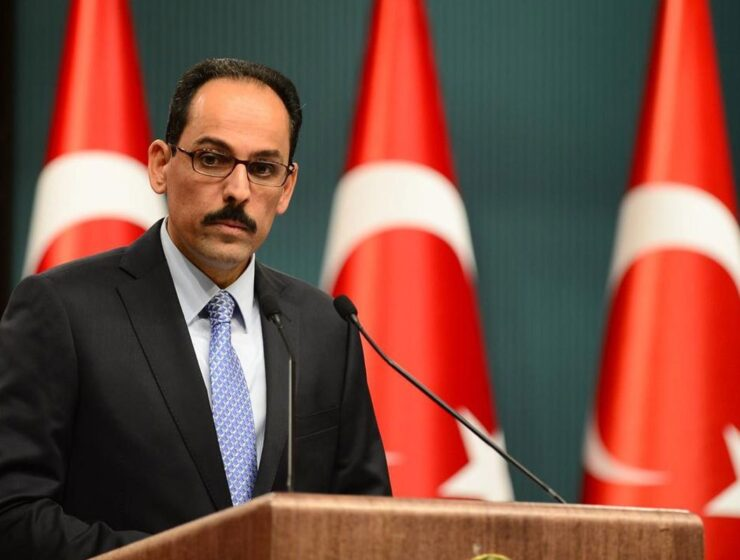 Turkish Presidential Spokesman İbrahim Kalın.
