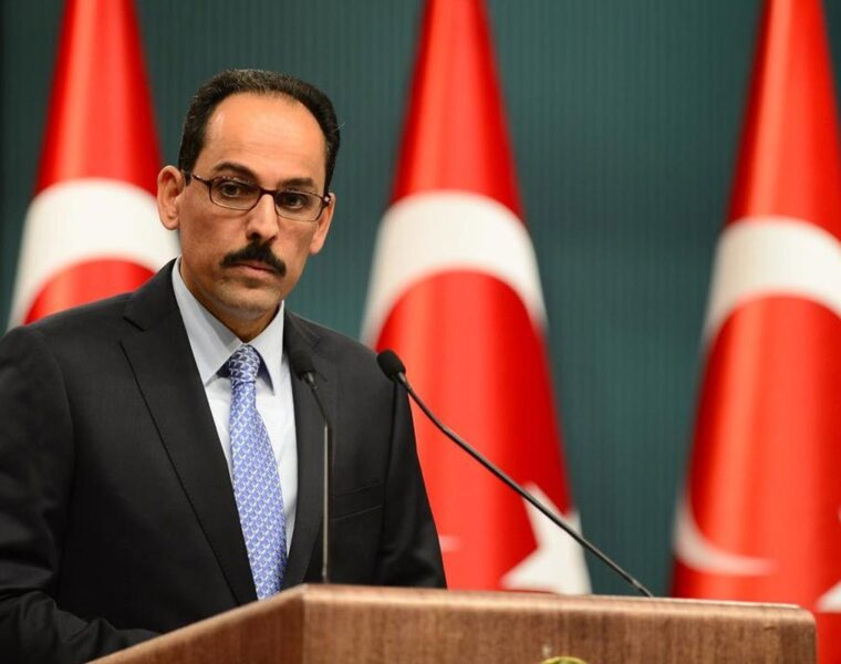 "Erdoğan's spokesman said Greece's reaction to protect its borders was ""excessive"" 1"