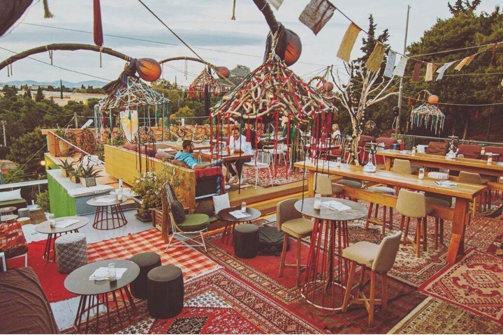 Under the summer sky at La Gitana in Athens (VIDEO) 5