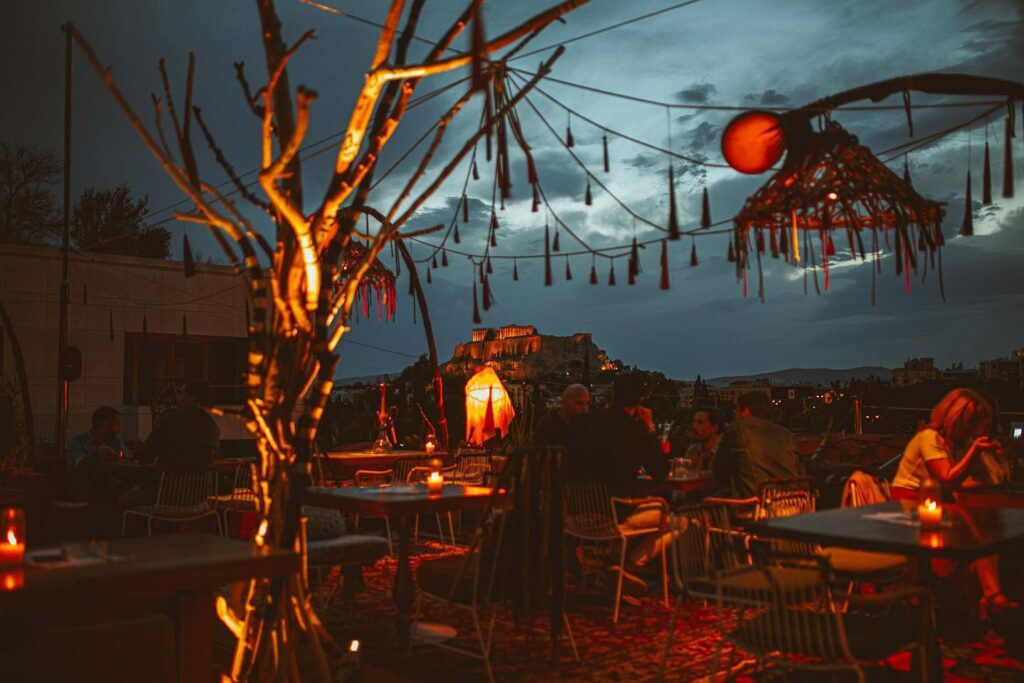 Under the summer sky at La Gitana in Athens (VIDEO) 4
