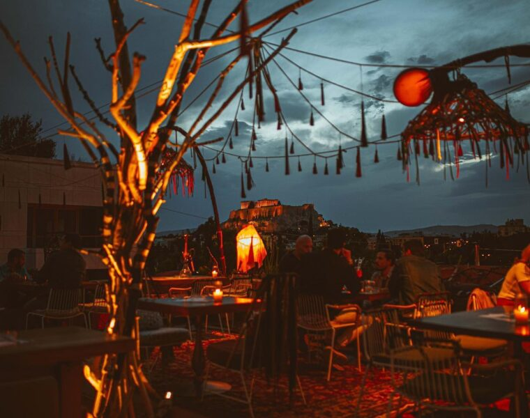 Under the summer sky at La Gitana in Athens (VIDEO) 3