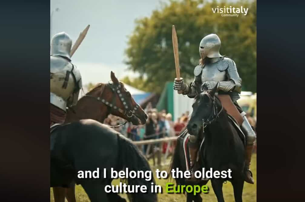 """""""Visit Italy"""" says the oldest culture in Europe is Italian 2"""