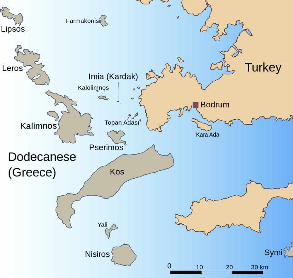 Could fake white sand on Turkish beaches that cause lung disease affect Greek islands? 4