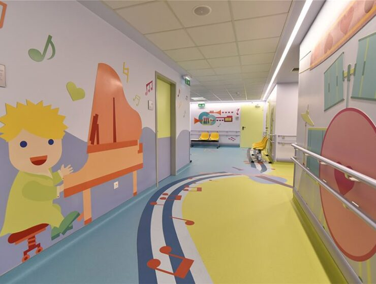 Newly renovated cardiology unit at Agia Sofia Children's Hospital