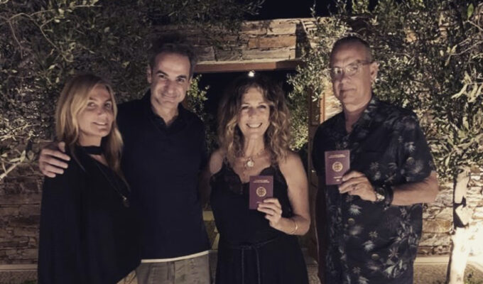 Tom Hanks and Rita Wilson are now proud Greek citizens 2