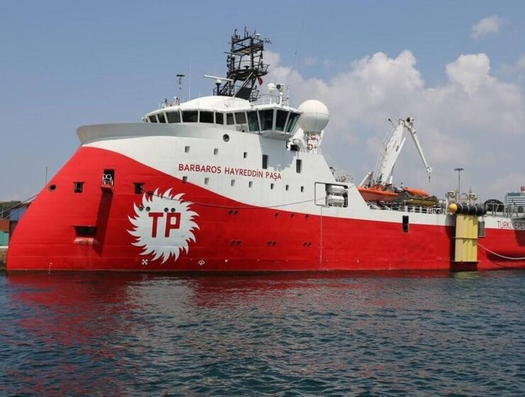 Turkey's seismic research vessel 'Barbaros'