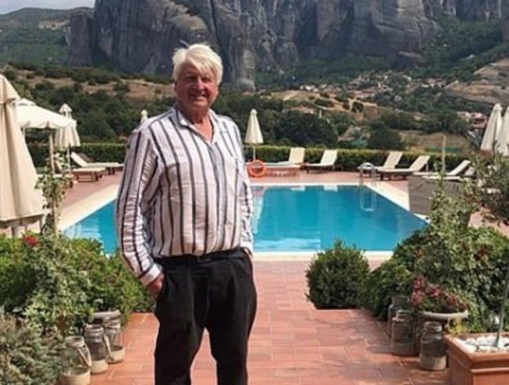 British PM's father is set to make £17,000 from his Greek villa this summer