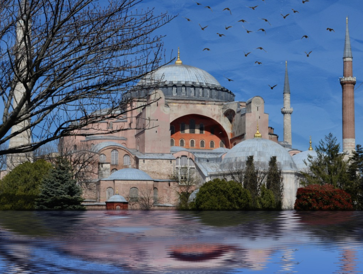 Turkey invites Pope Francis to Hagia Sophia