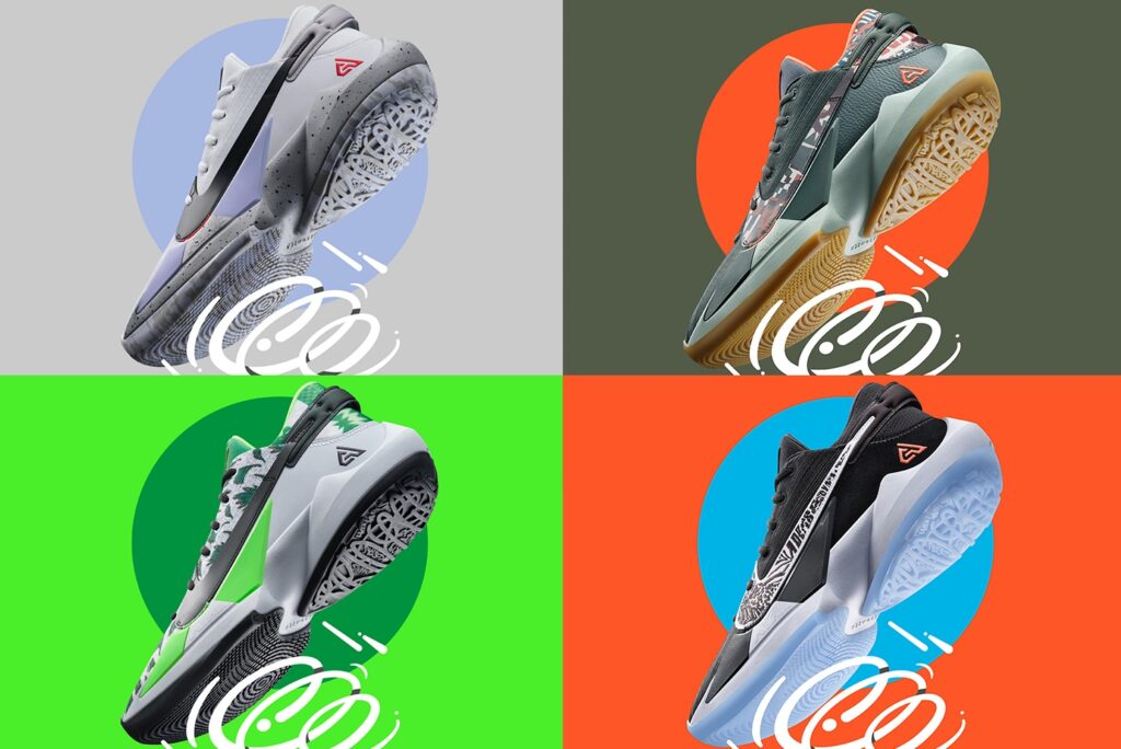 """Nike launches Giannis Antetokounmpo's """"Zoom Freak 2"""" in 4 different colours"""