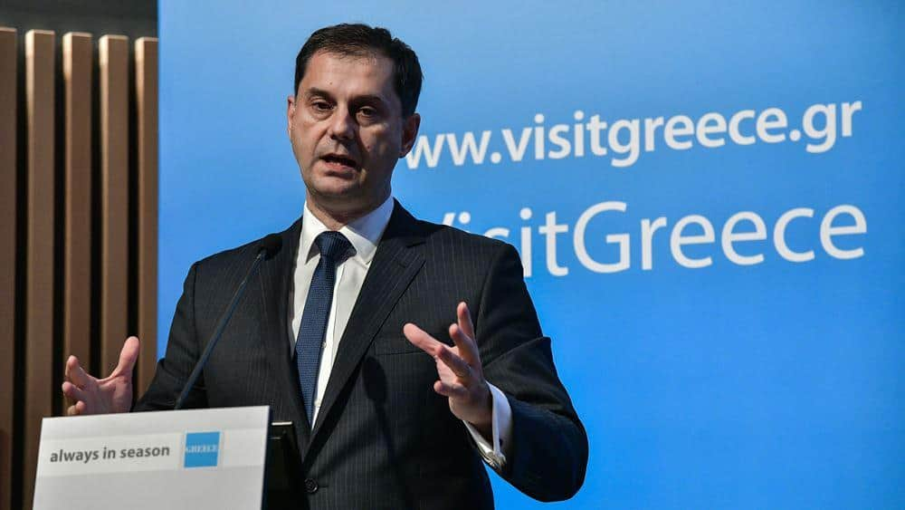 Greek Tourism Minister: Greece has done very well in restarting tourism