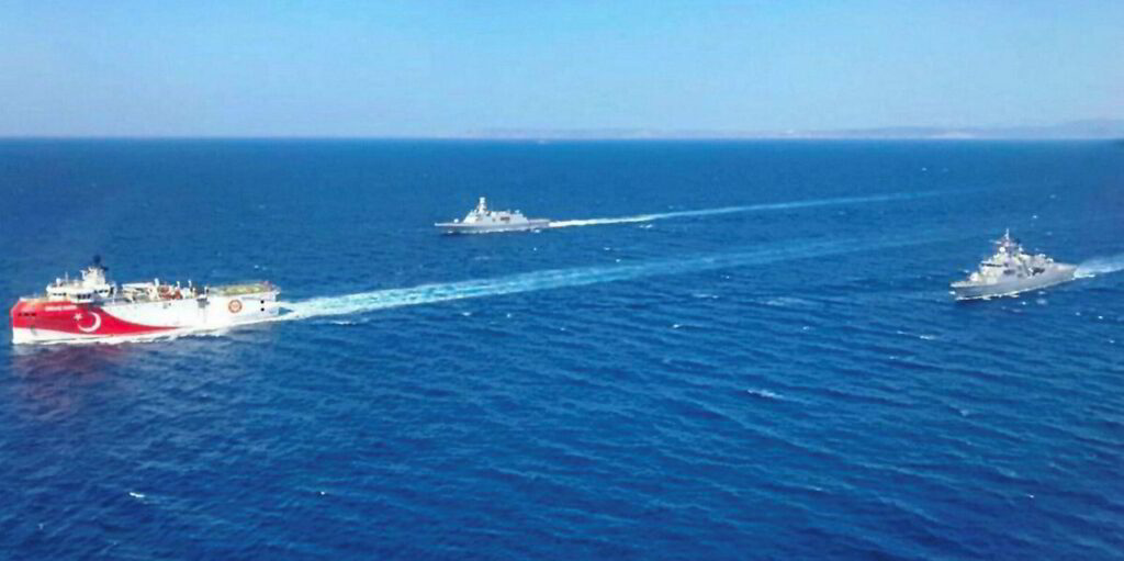 At least 17 Turkish warships leave port as Greek military is put on High Alert 2