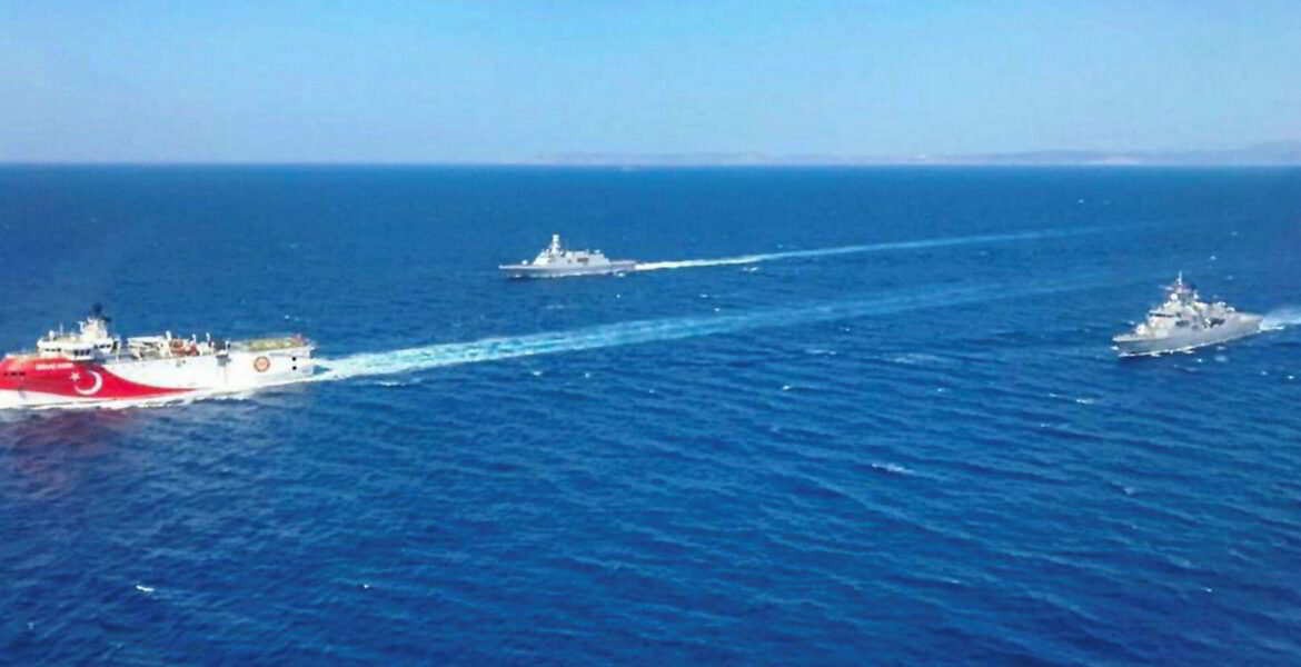 At least 17 Turkish warships leave port as Greek military is put on High Alert 1