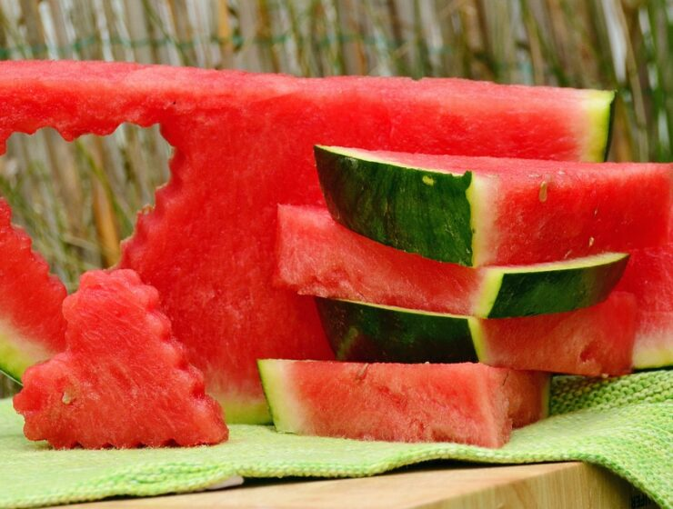 Watermelons grow listening to classical music