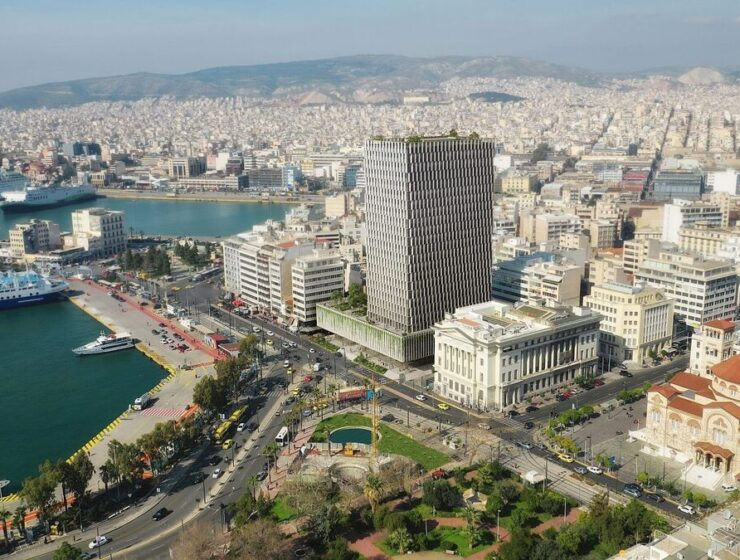 How Greece's second-tallest building will be transformed 1