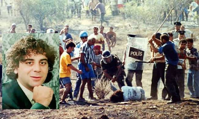 On this day in 1996, Tasos Isaac was brutally murdered by Turks in Cyprus 2