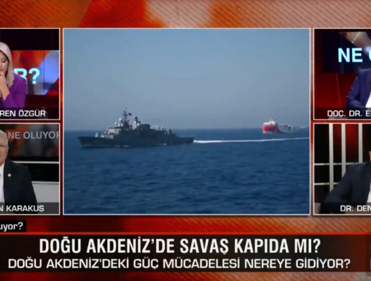 """Aegean"" and ""Agamemnon"" are not Greek words, but Turkish says guest on CNN Türk 15"
