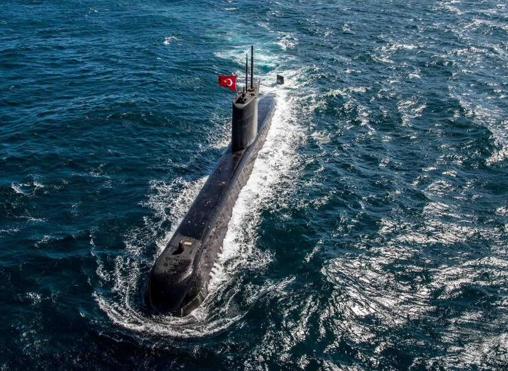 Aegean Tensions: Turkish submarine had difficult night surrounded by Greek helicopter & stealth submarine 7