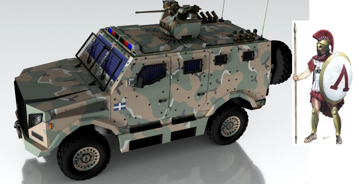 New Greek armoured vehicle to be called Hoplite 1
