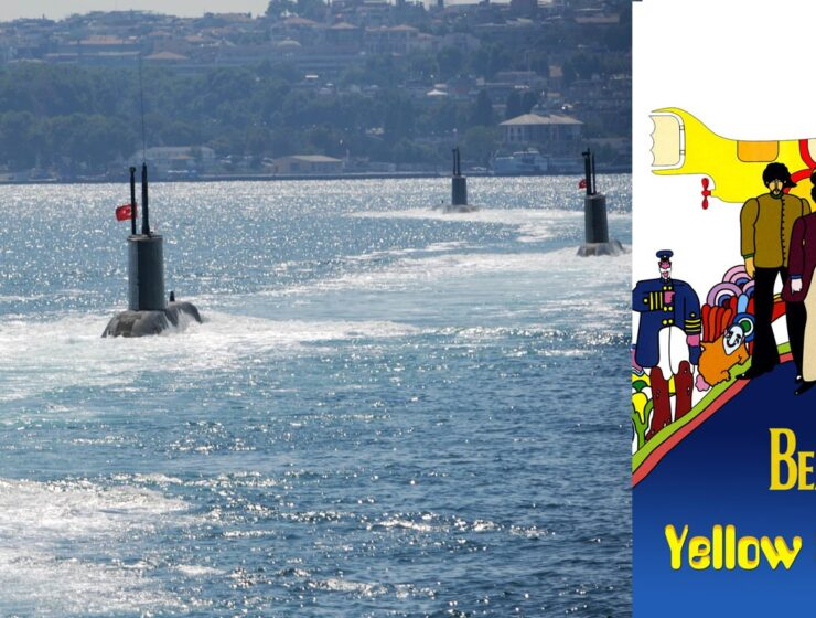 Turkish submarines surrounded by Greek military blared with ear piercing frequencies & Beatles song 3