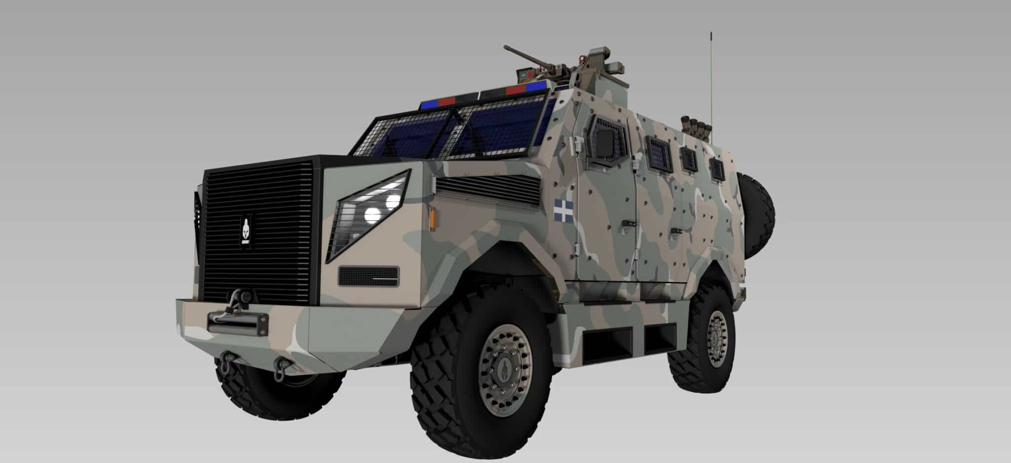New Greek armoured vehicle to be called Hoplite 2