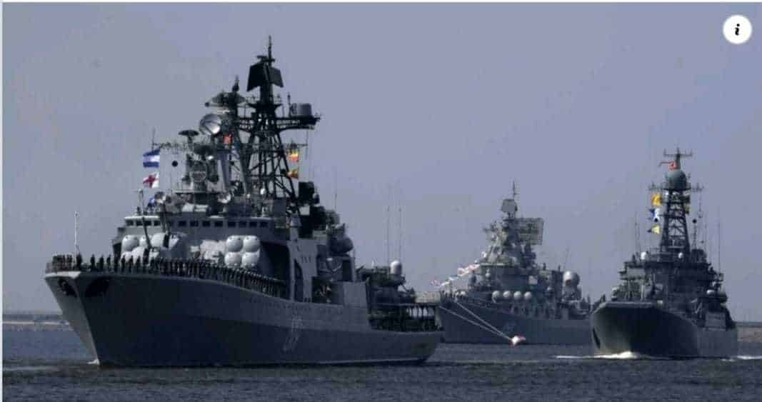 Russian naval activity in the eastern Mediterranean is sounding alarm bells for Turkey 1