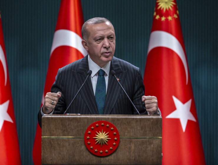 Erdoğan: Greece is unworthy of Byzantine legacy and we will take what we want from the Aegean 20