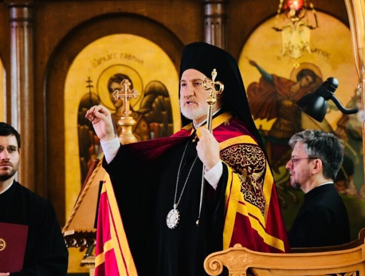 "His Eminence Archbishop Elpidophoros of America: ""Fight against injustice, inequality and hatred"""
