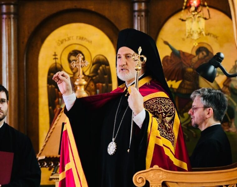 """His Eminence Archbishop Elpidophoros of America: """"Fight against injustice, inequality and hatred"""""""