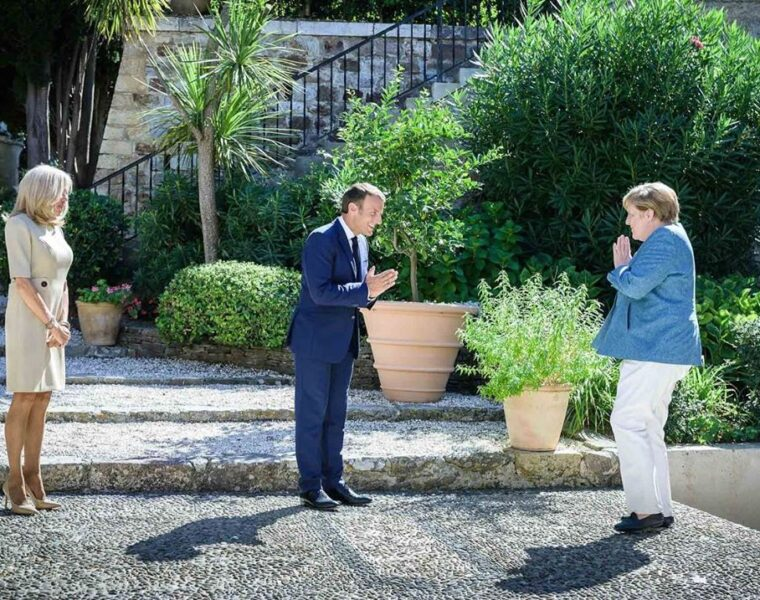 "French President and German Chancellor call for ""European sovereignty and stability"""