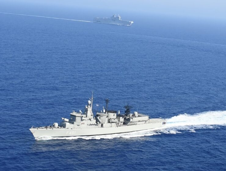 Tensions in the Aegean: Greek frigate rams and damages Turkish war ship 17