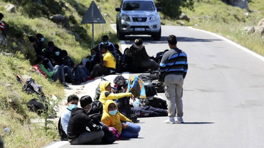 Seventeen illegal immigrants test positive for covid-19 2