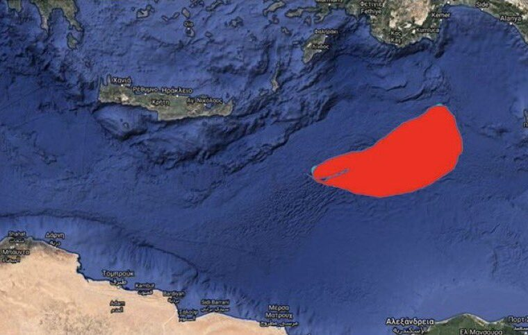 Turkey issues new NAVTEX for area south of Kastellorizo 1