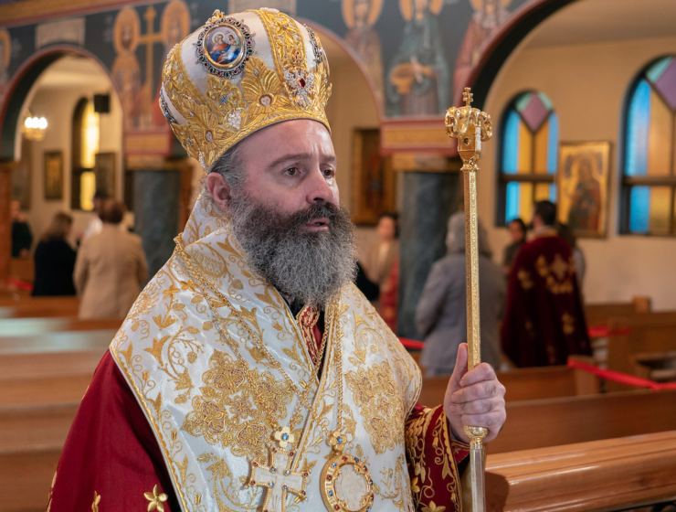 A message from His Eminence Archbishop Makarios- Chora Monastery conversion