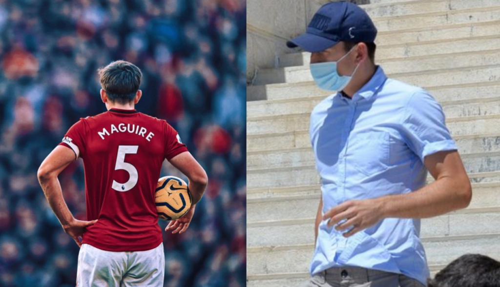 Manchester United's Harry Maguire found guilty on three charges