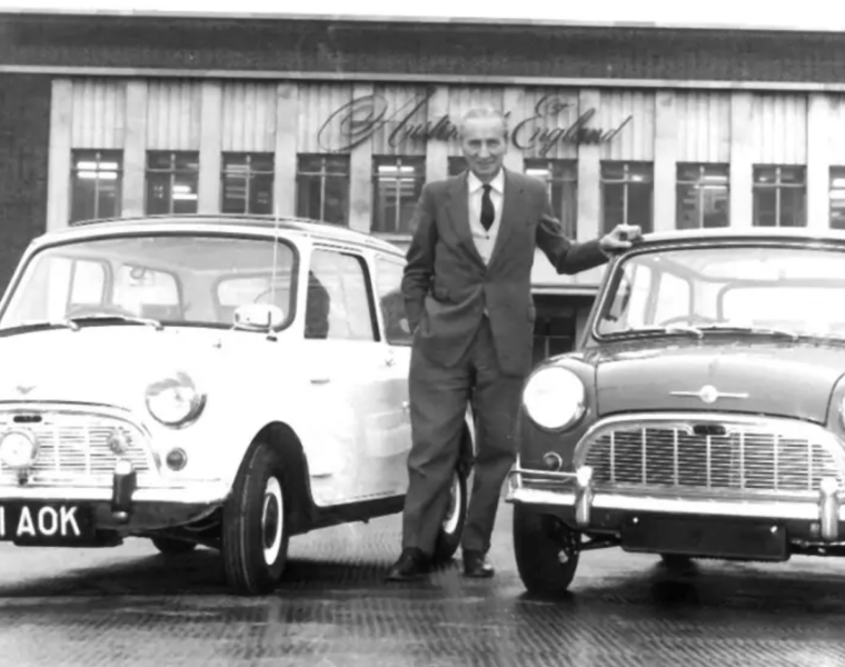 On this day in 1959, the Mini Cooper was launched by a Greek car designer