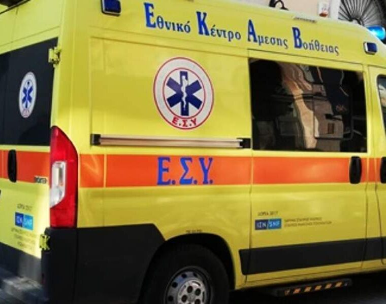 ambulance, British tourist falls to death from Corfu balcony in suspected suicide
