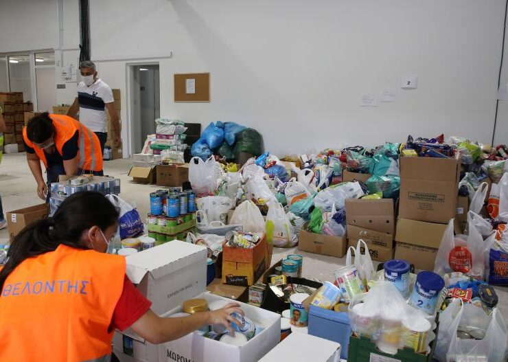 20 tonnes of food to be shipped from Cyprus to Lebanon following Beirut explosions