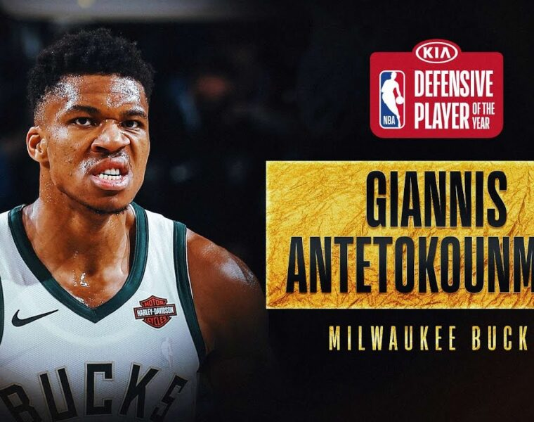 Giannis Antetokounmpo named 2019-20 NBA Defensive Player of the Year