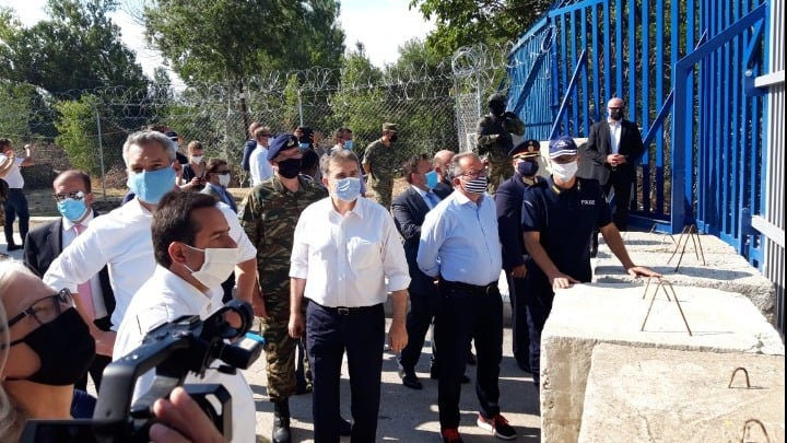 Evros border fence project to be completed in eight months