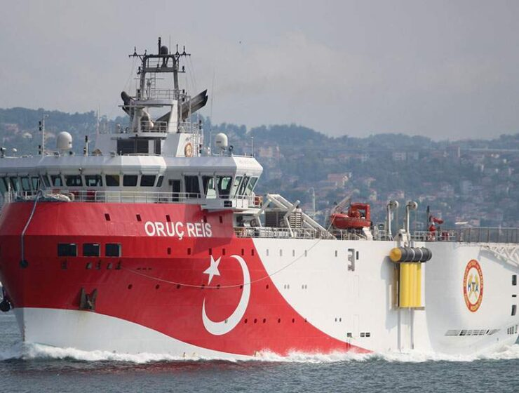 oruc reis, Turkey extends illegal NAVTEX for area south of Kastellorizo,