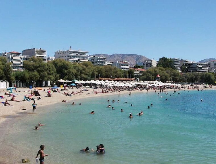 199 beaches in Attica approved for the quality of their waters