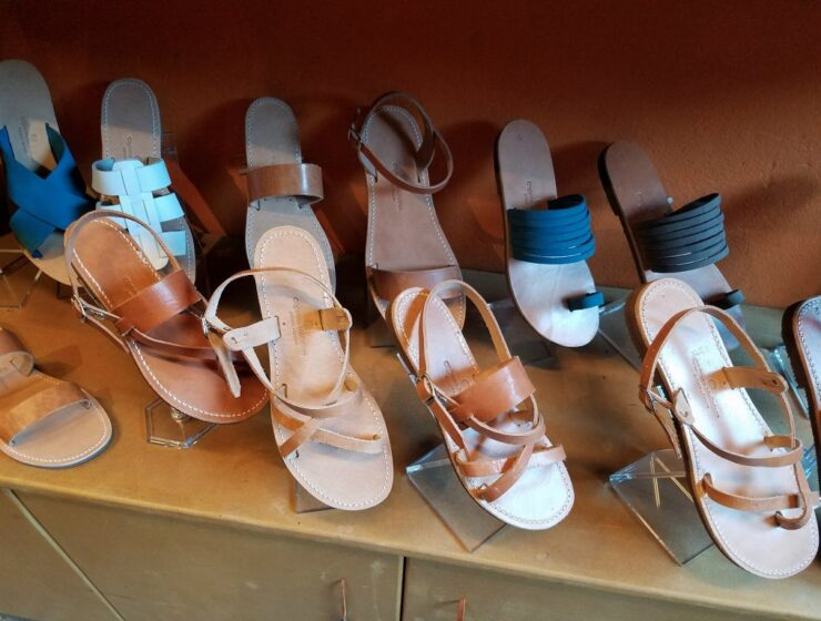 Meet third-generation Greek sandal maker Olgianna Melissinos