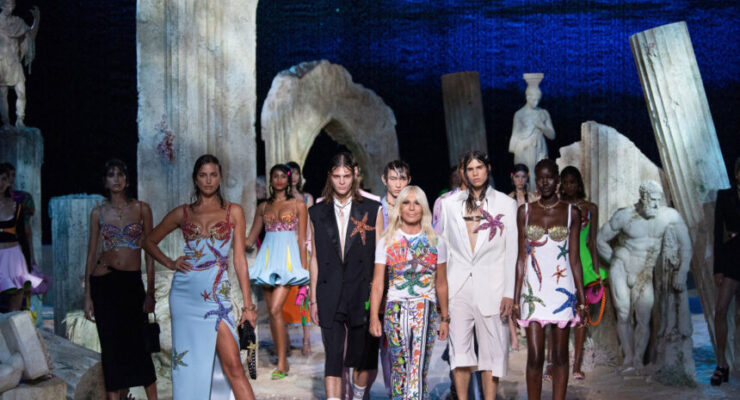 Versace's 'Versacepolis', a collection characterised by boldness, character and attitude