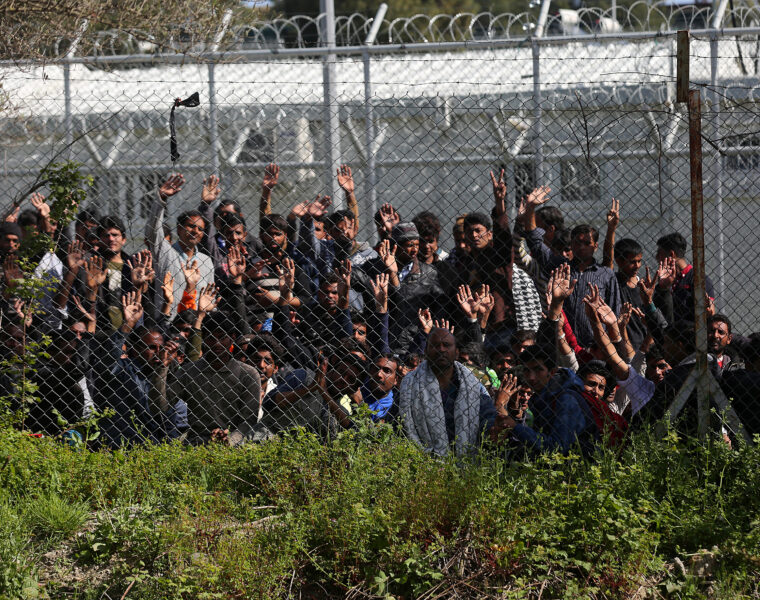 Lesvos to be cleared of illegal immigrants by Easter 2021 8