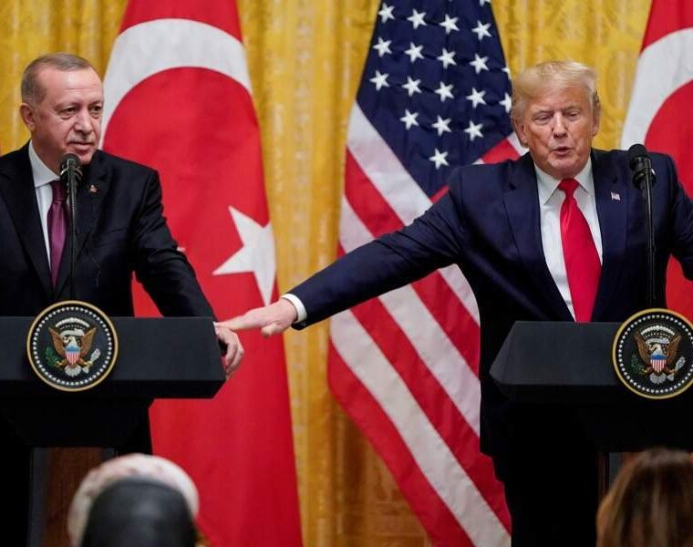Trump: I get along very well with Erdoğan even though I'm not supposed too 7