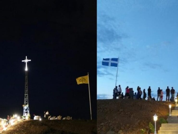 Erdoğan to complain to Merkel about giant Cross erected on Greek-Turkish border (VIDEOS) 4