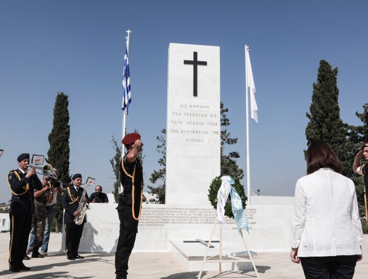 Sakellaropoulou: Greece will fight persistently to end Turkey's occupation of northern Cyprus 10
