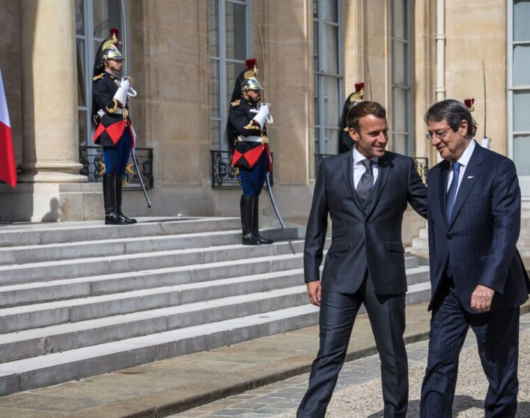 Cypriot President: Macron is a ray of hope to save EU principles and values ​​ 3