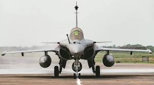 French-made Rafale jet.