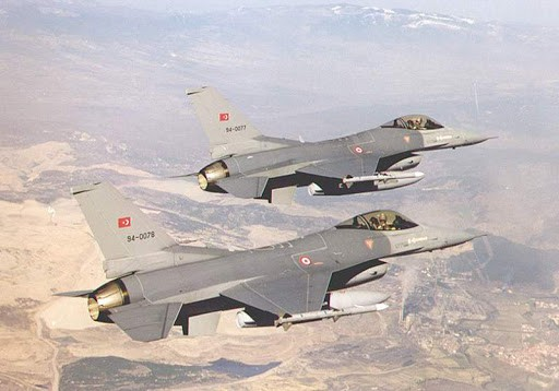 Turkish F-16's Turkey